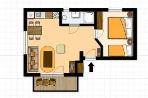 Ubytovanie Žember - Apartmán