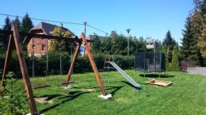 ubytovanie žember - chata žember - exteriér - detské ihrisko