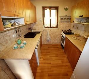 ubytovanie žember - chata žember - kuchyňa