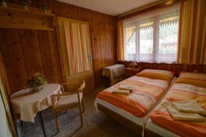 ubytovanie žember - chata žember - spálňa 2+2