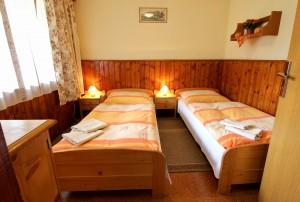 ubytovanie žember - chata žember - spodná spálňa